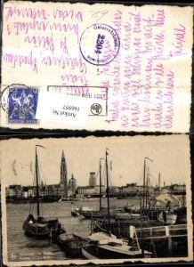 166957,Anvers La Rade, Antwerpen De Reede, Boote im Hafen
