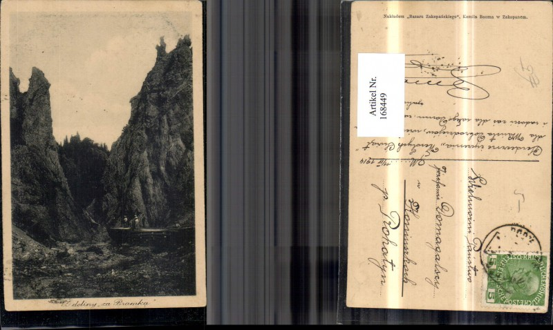 168449,Z doliny za Bramka Dolina za Bramka 1914