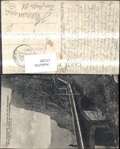 171205,Dauphine Chemin de fer electrique de la Mure Tunnel de la Clapisse Eisenbahn Viadukt Tunnel