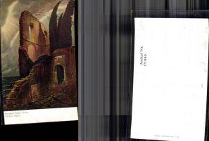 171949,Künstler Ak Böcklin Ruine