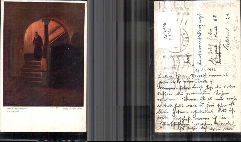 171969,Künstler Ak Der Klosterbruder sign Josef Straka