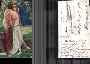 171982,Künstler Ak Ein Märchen sign J. Mandl