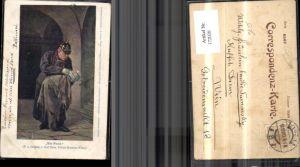 172020,Künstler Ak Carl Zewy Ein Fund Mann mit Baby in der Hand