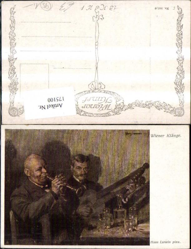 175100,Künstler Ak Hans Larwin Wiener Klänge