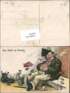 162978,Künstler AK Willi Scheuermann Scherzkarte Scherz Humor