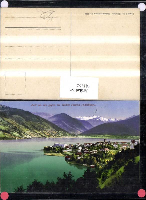 181762,Zell am See Totale geg. d. Hohen Tauern pub Purger & Co