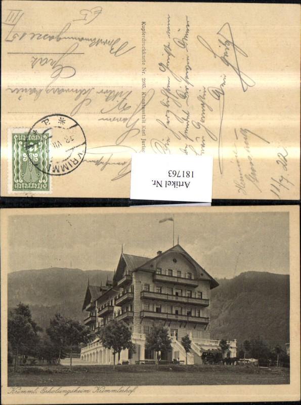 181763,Krimml Erholungsheim Krimmlerhof