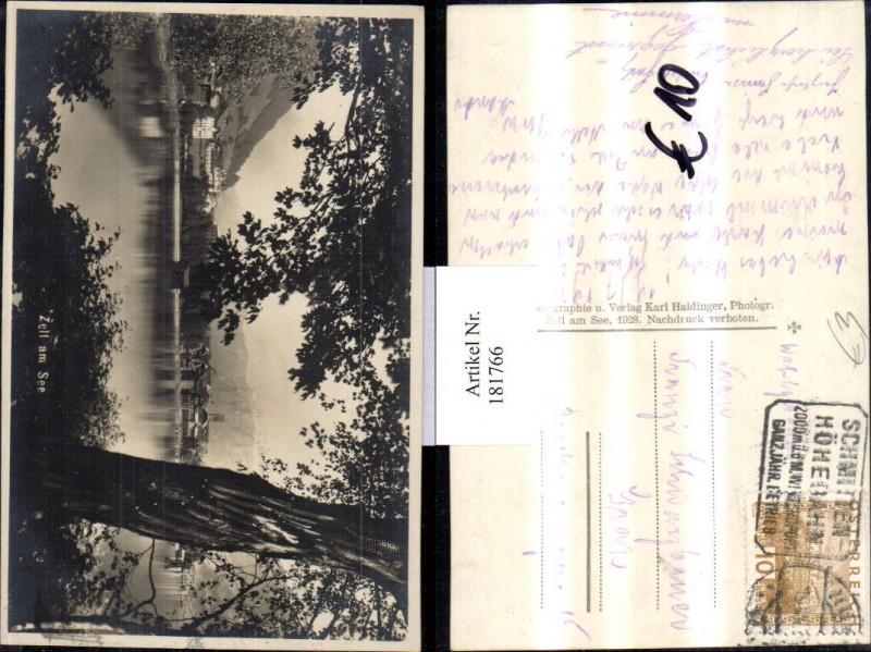 181766,Zell am See Teilansicht