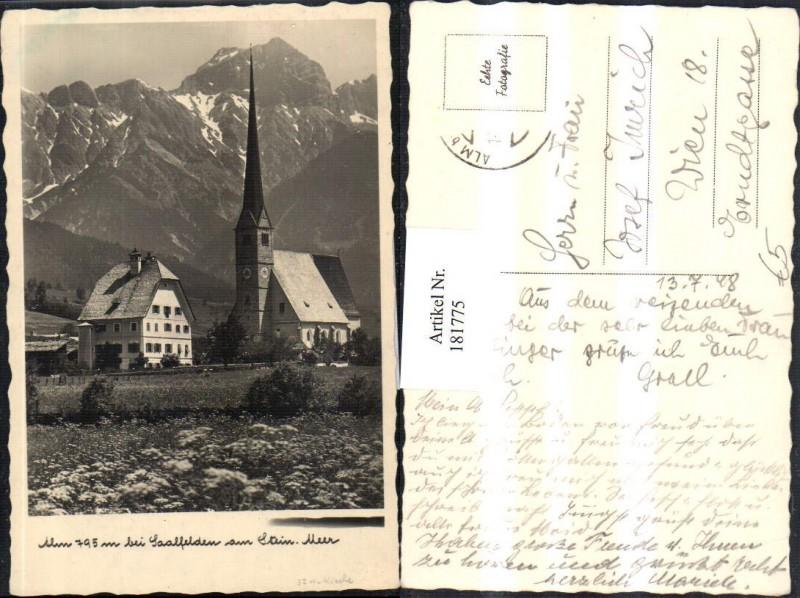 181775,Alm b. Saalfelden am Steinernen Meer Kirche