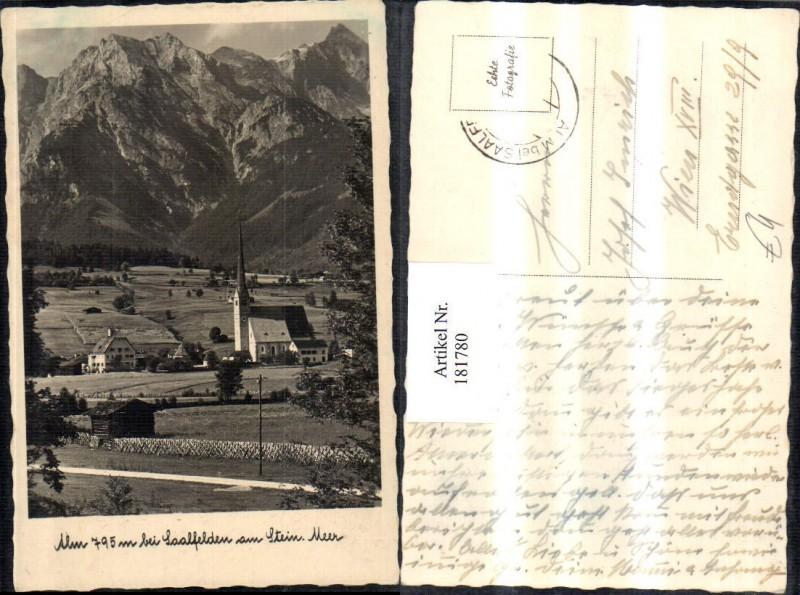 181780,Alm b. Saalfelden am Steinernen Meer Kirche