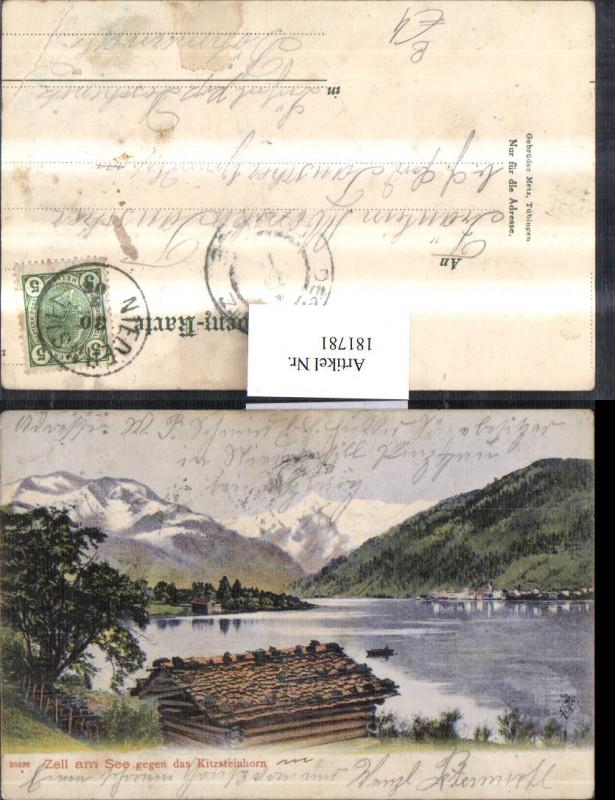 181781,Zell am See geg. d. Kitzsteinhorn