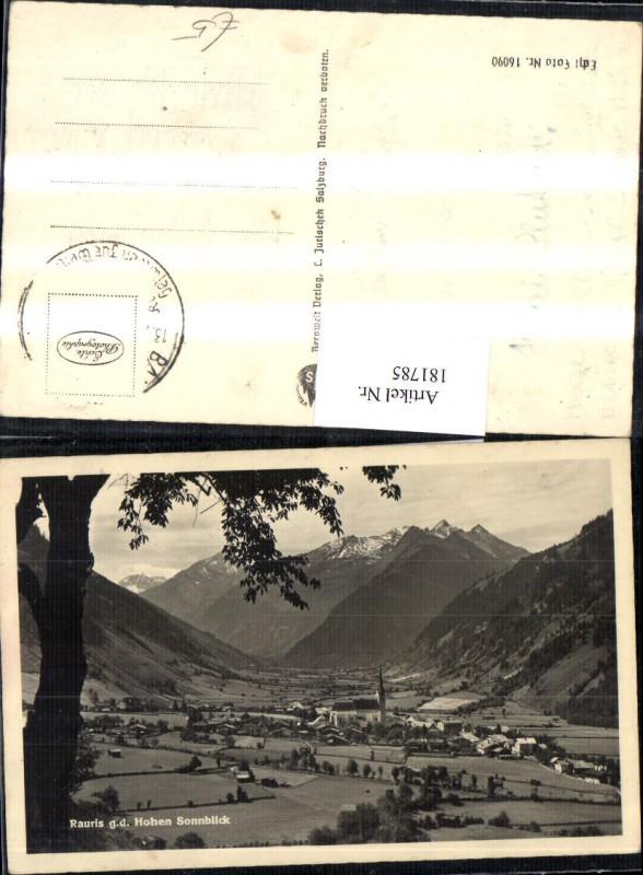 181785,Rauris g. d. Hohen Sonnblick Totale