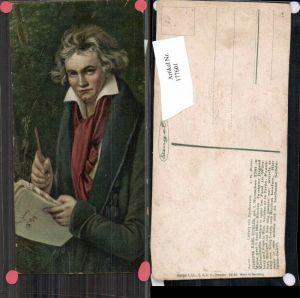 177601,Künstler AK Stengel & Co. 29140 Joseph Karl Stieler Ludwig v. Beethoven