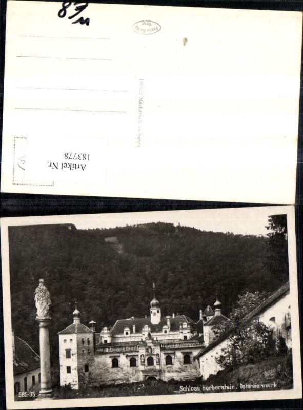 183778,Schloss Herberstein b. St. Johann b. Herberstein