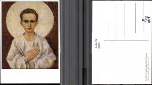 186858,Künstler AK M. Spötl Schwaz 514 Der Held Tarzisius Junge