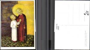 186869,Künstler AK M. Spötl Schwaz 567 Kinder Hand in Hand