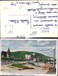 188808,Uruguay Departamento Maldonado Piriapolis Plaza de la Estacion Ansicht