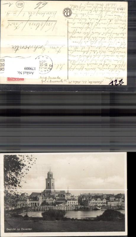 179009,Niederlande Gezicht op Deventer