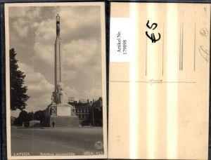 179098,Lettland Riga Latvija Brivibas piemineklis Säule