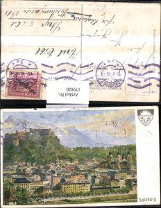 179820,Deutscher Schulverein 576 Hofecker Salzburg Teilansicht