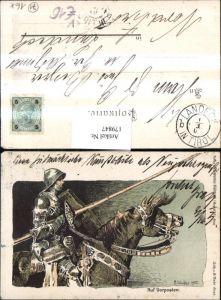 179847,Verein Südmark R. Winkler Auf Vorposten Ritter Pferd