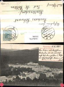 181606,Karlsbad Marienbad Blick v. Aussichtsturm Totale