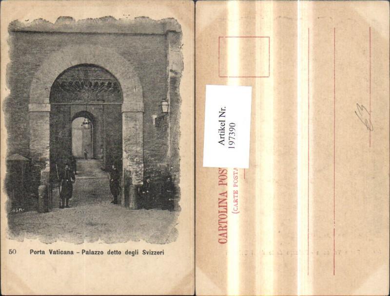 197390,Lazio Porta Vaticana Palazzo detto degli Svizzeri Vatikan