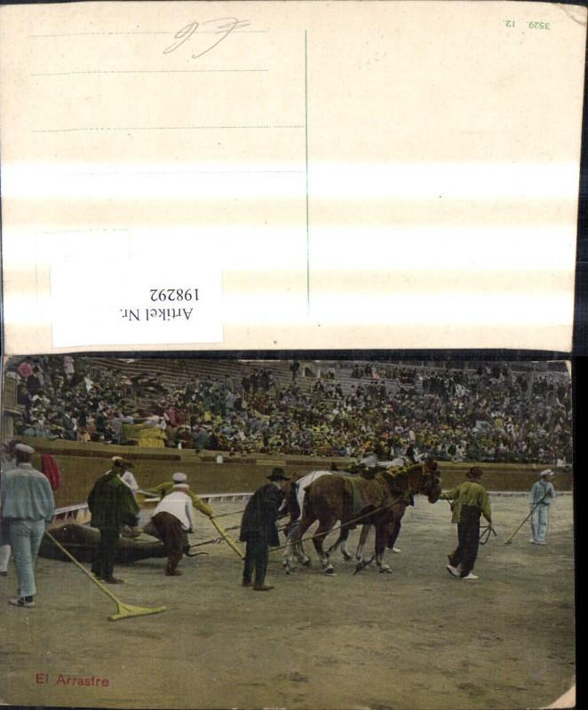 198292,Tier Pferd Pferde Stier Stierkampf El Arrastre