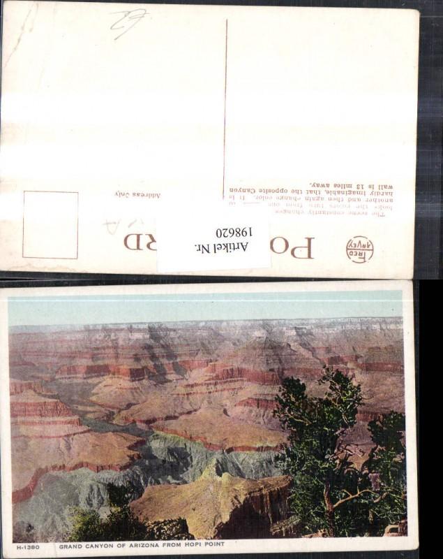 198620,Arizona Grand Canyon from Hopi Point