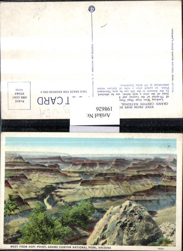 198626,Arizona Grand Canyon National Park West from Hopi Point