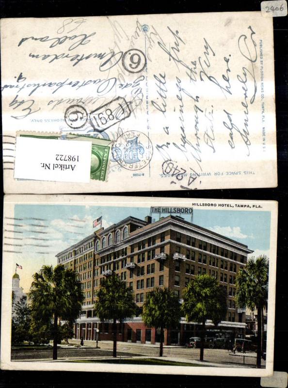 198722,Florida Tampa Hillsboro Hotel