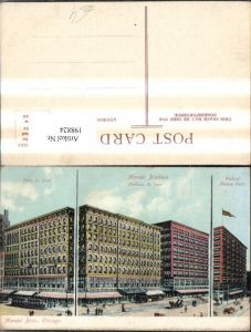 198824,Illinois Chicago Mandel Bros. State St. front Wabash Avenue front Madison St. front