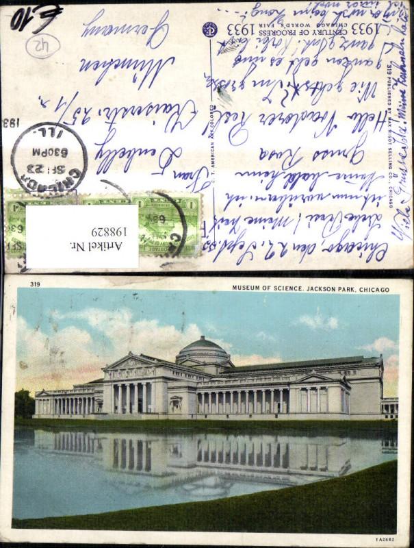 198829,Illinois Chicago Museum of Science Jackson Park