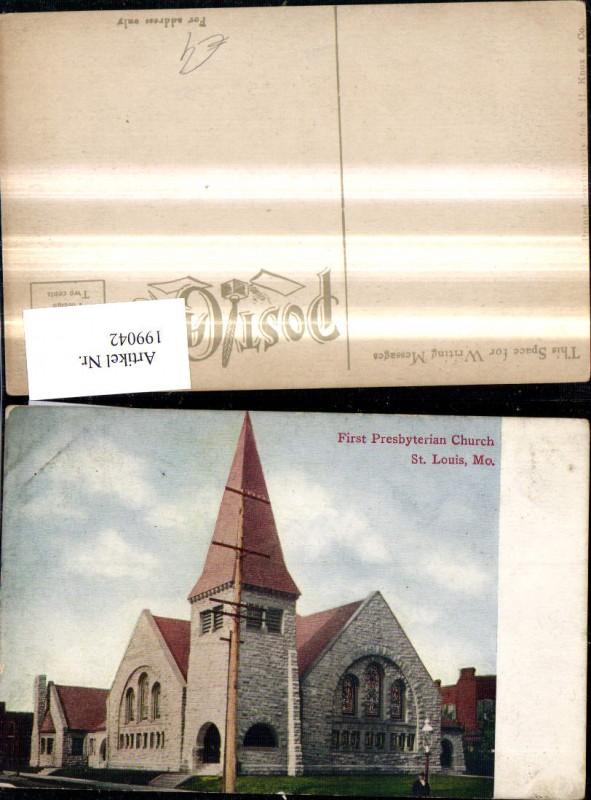 199042,Missouri St. Louis First Presbyterian Church Kirche
