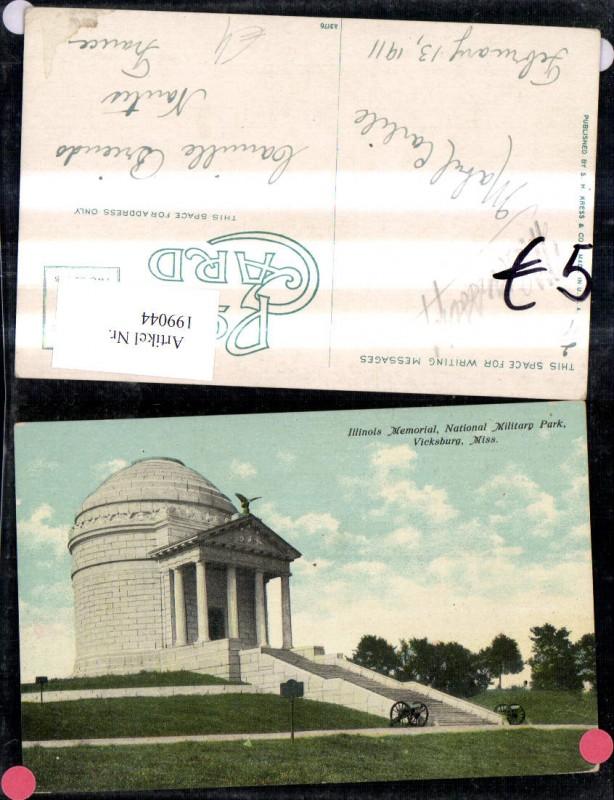 199044,Missouri Vicksburg Illinois Memorial National Military Park