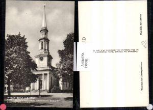 199081,Massachusetts Lexington Church First Congregational Society Kirche