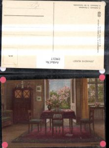 199217,Asco AK 4320 Dänische Kunst N. Holtmark In der Gartenstube