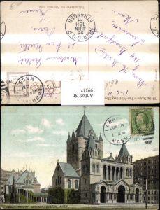 199337,Massachusetts Boston Trinity Church Kirche