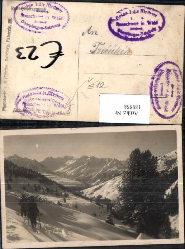 189558,FotoAK im Pinzgau Oberpinzgau Wald Bramberg Neukirchen pub Oppitz Andorf