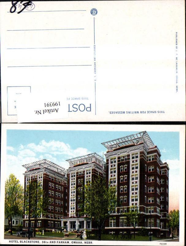199391,Nebraska Omaha Hotel Blackstone 36th and Farnam