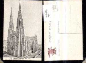 199481,New York City St Patricks Cathedral Kathedrale Kirche