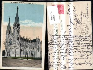 199491,New York Buffalo St Josephs Cathedral Kathedrale Kirche