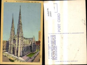 199493,New York City St Patricks Cathedral Kathedrale Kirche