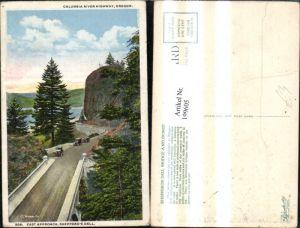 199605,Oregon Columbia River Highway Strassenansicht m. Automobile