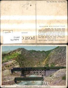 199712,Utah Gateway Devils Gate Bridge near Gateway Eisenbahn Brücke Zug