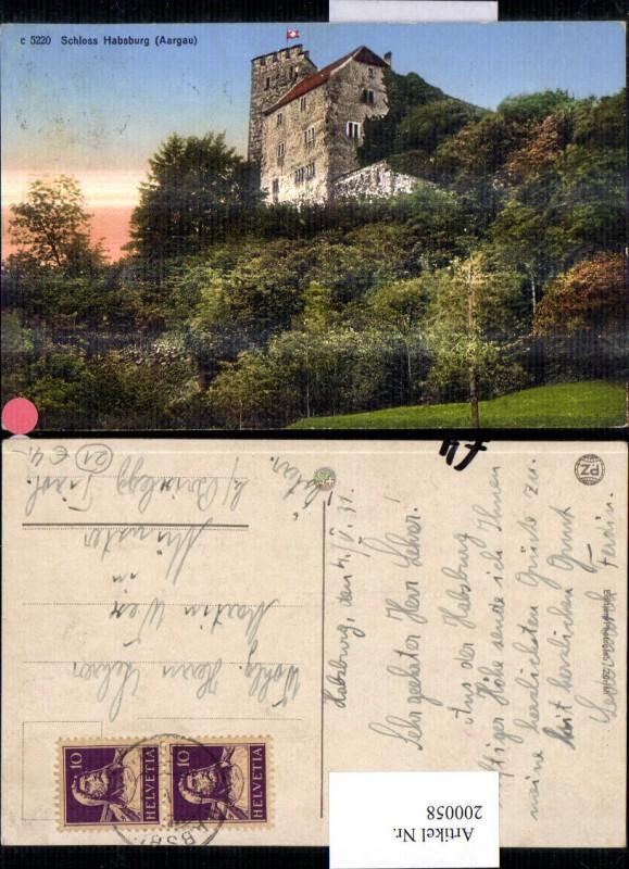 200058,Schloss Habsburg Kt Aargau 0