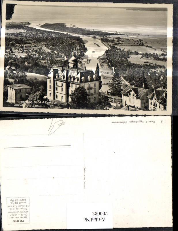 200082,Foto Ak Stockach Zizenhausen Bad Hotel Kurhaus m. Ruela Bodensee Kt Appenzell 0
