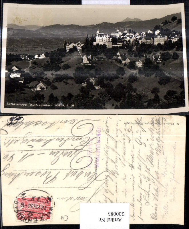 200083,Walzenhausen Foto Ak Kt Appenzell