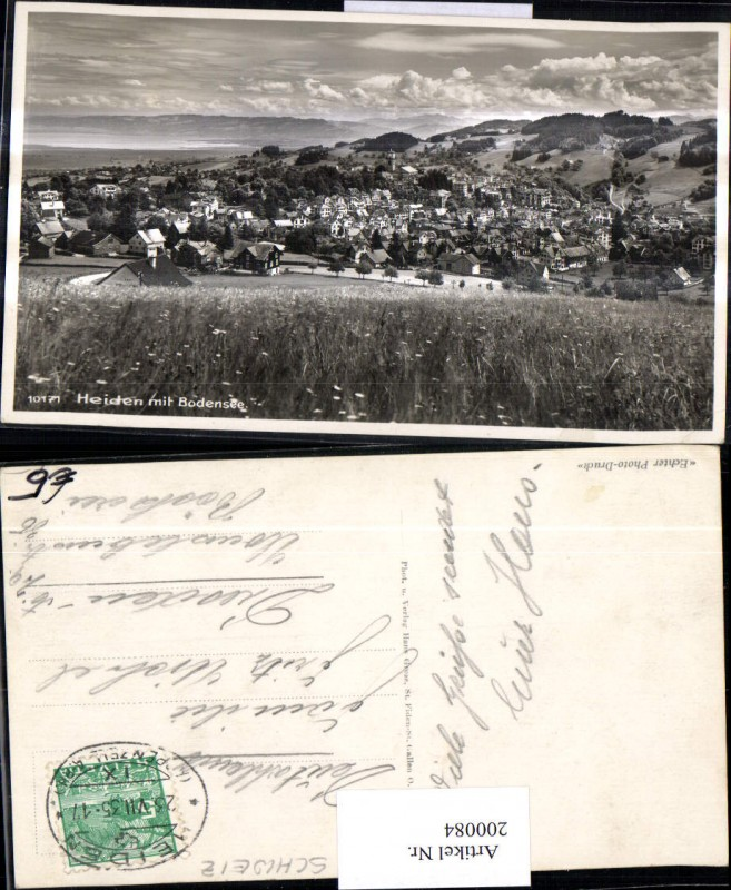 200084,Heiden m. Bodensee Totale Kt Appenzell