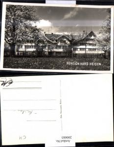 200085,Foto Ak Pension Nord Heiden Kt Appenzell